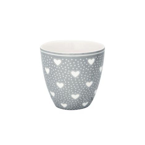 GreenGate Mini Latte Cup Becher Penny Grey