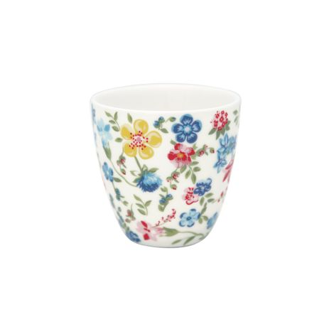 GreenGate Mini Latte Cup Becher Sophia White