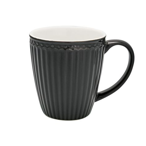 GreenGate Tasse Alice Dark Grey