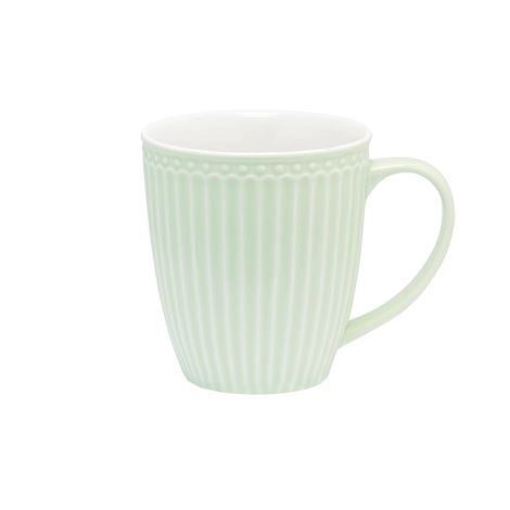 GreenGate Porzellan Tasse Alice Pale Green