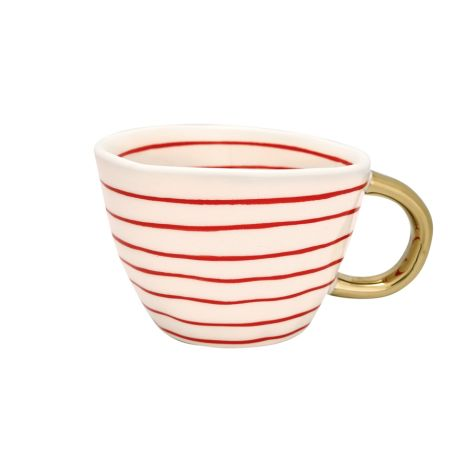 GreenGate Tasse Sally Red/Gold