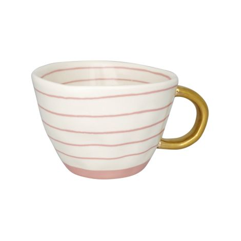 GreenGate Tasse Sally Pale Pink/Gold