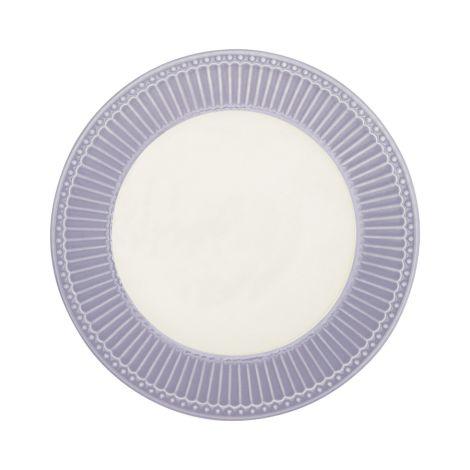 GreenGate Teller Alice Lavender 23 cm
