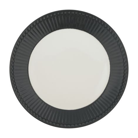 GreenGate Teller Alice Dark Grey 23 cm