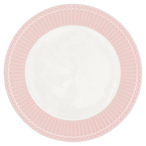 GreenGate Porzellan Teller Alice Pale Pink 23 cm