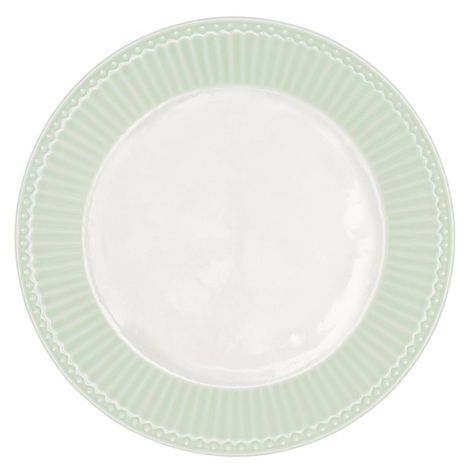 GreenGate Porzellan Teller Alice Pale Green 23 cm