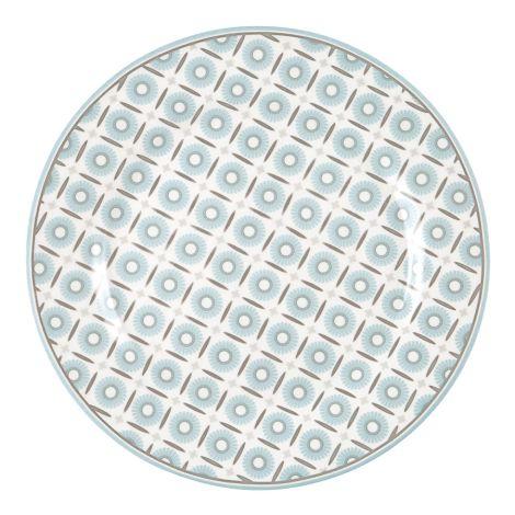 GreenGate Teller Alva White 20,5 cm