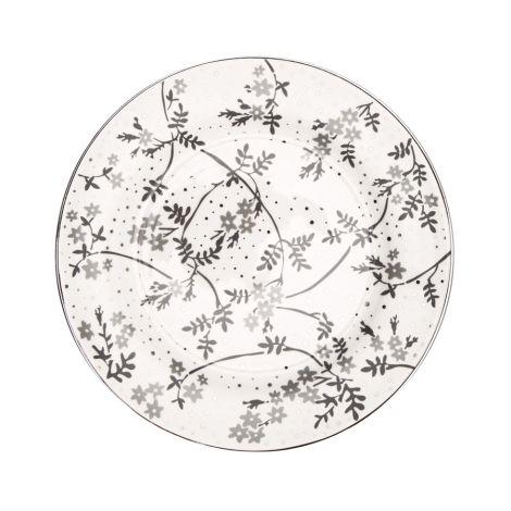 GreenGate Teller Amira White 20,5 cm