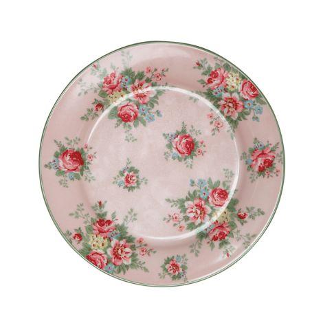 GreenGate Teller Aurelia Pale Pink 20,5 cm •