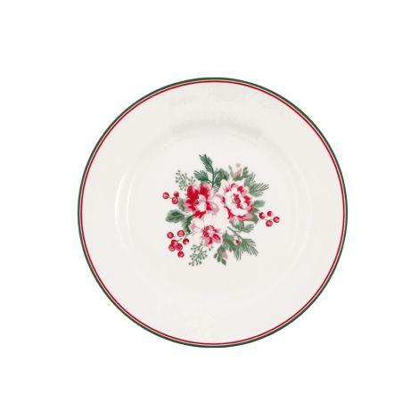 GreenGate Teller Charline White 20,5 cm