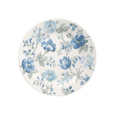GreenGate Teller Donna Blue 20,5 cm