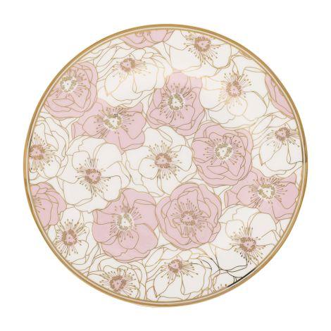 Gate Noir by GreenGate Teller Flori Pale Pink 20 cm •