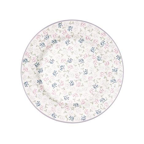 GreenGate Teller Ginny White 20,5 cm