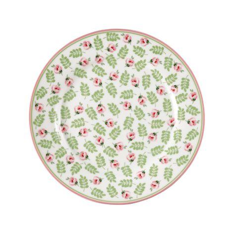 GreenGate Teller Lily Petit White 20,5 cm •