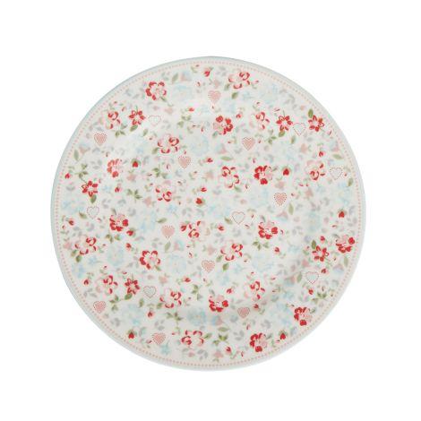 GreenGate Teller Merla White 20,5 cm