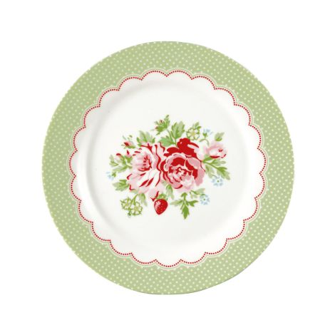 GreenGate Teller Mary White 20,5 cm