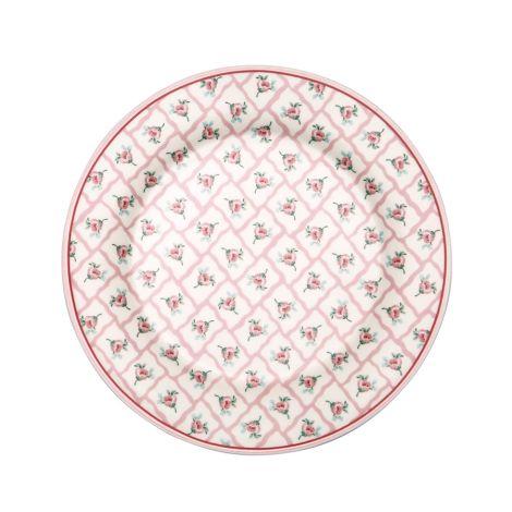 GreenGate Teller Rita Pale Pink 20,5 cm