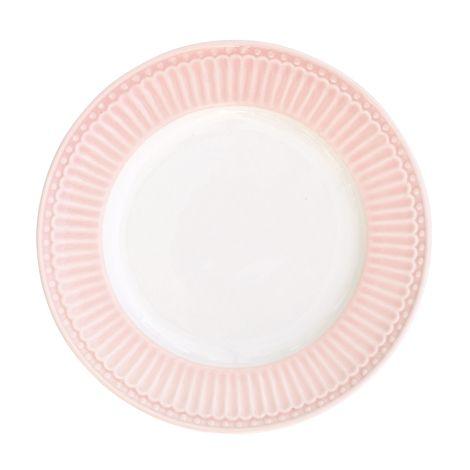 GreenGate Teller Klein Alice Pale Pink 17cm