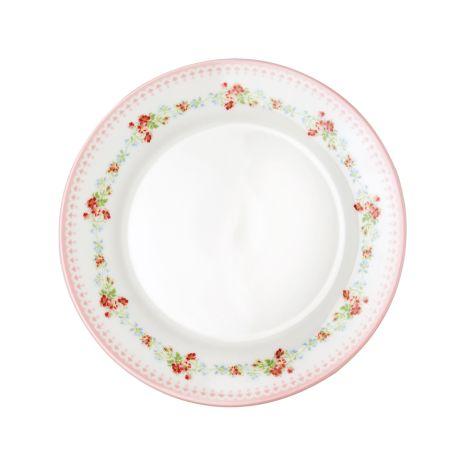 GreenGate Teller Sinja White 20,5 cm