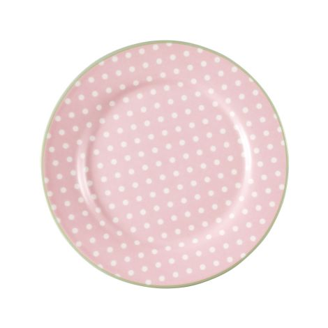 GreenGate Teller Spot Pale Pink 20,5 cm