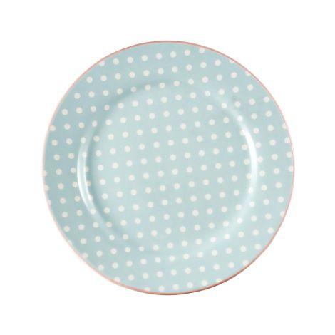 GreenGate Teller Spot Pale Blue 20,5 cm