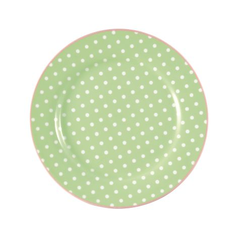 GreenGate Teller Spot Pale Green 20,5 cm