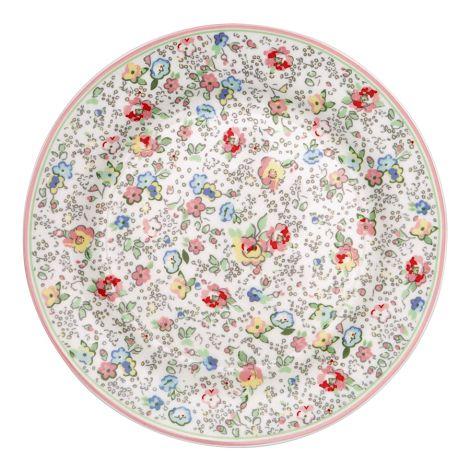 GreenGate Teller Vivianne White 20,5 cm