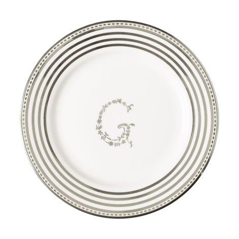 GreenGate Kleiner Teller G Silver