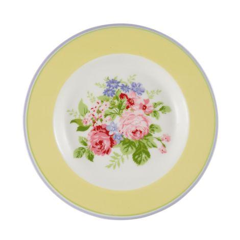 GreenGate Teller Rose Pale Yellow 15 cm