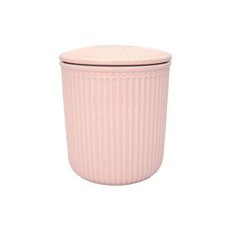 GreenGate Behälter Alice Pale Pink Medium