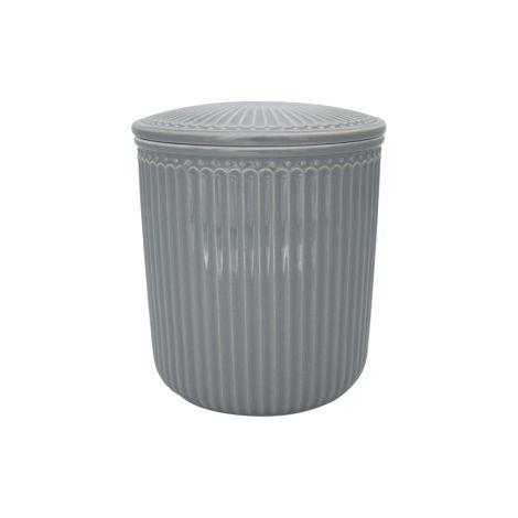 GreenGate Behälter Alice Stone Grey Medium