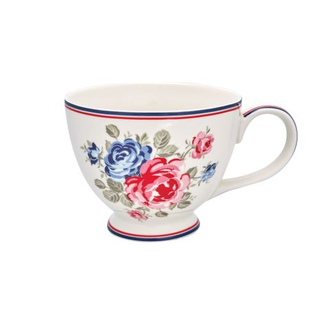 GreenGate Teetasse Hailey White •