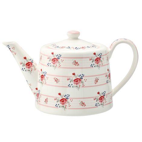 GreenGate Teekanne Fiona Pale Pink