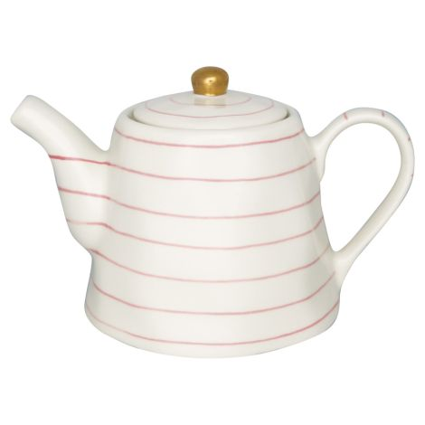 GreenGate Teekanne Sally Pale Pink/Gold