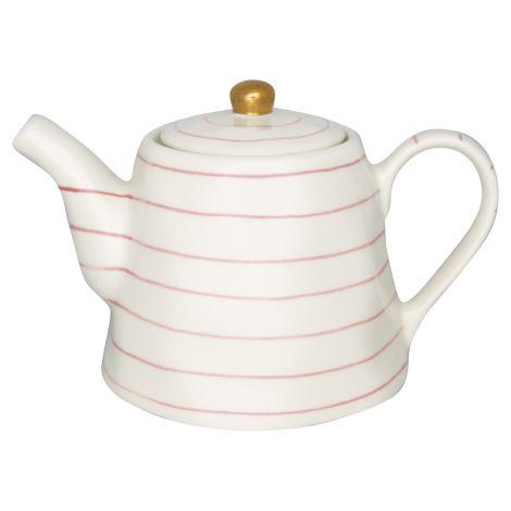 GreenGate Teekanne Sally Pale Pink/Gold