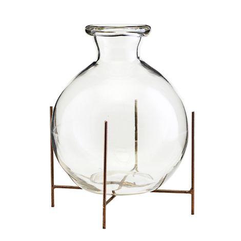 House Doctor Vase mit Halterung Lana 17 cm