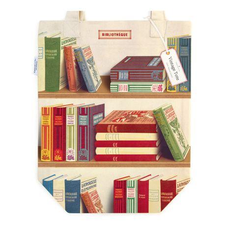 Cavallini Tasche Library Books