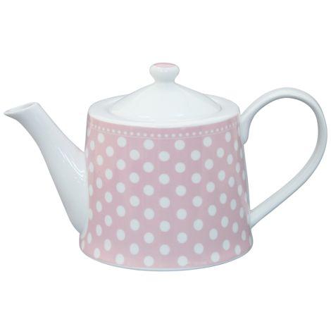 Krasilnikoff Teekanne Dots Pink