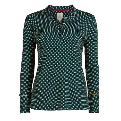 PIP Studio Langarm-Shirt Telma Twinkle Star Blue XL