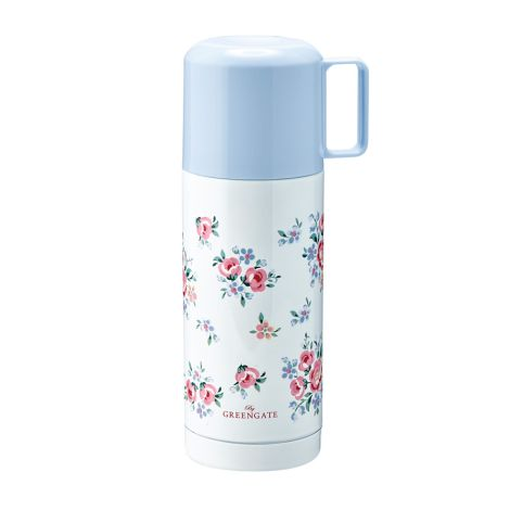 GreenGate Thermosflasche Nicoline White 350ml •