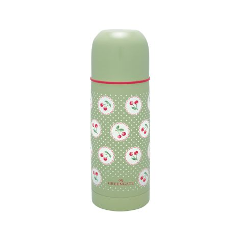 GreenGate Thermosflasche Cherry Berry Green 300ml •