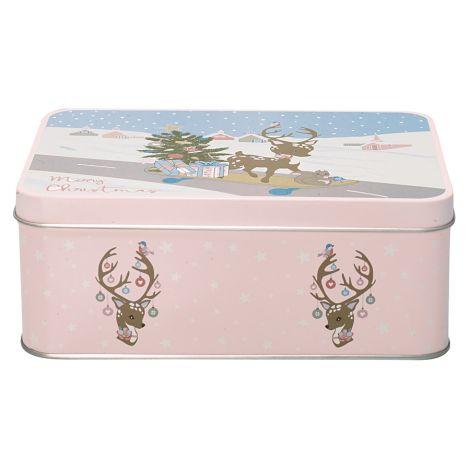 GreenGate Blechdose Bambi Pale Pink