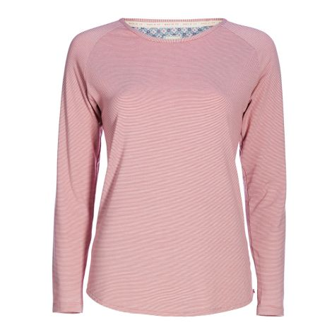 PIP Studio Langarm-Shirt Tommy Stripers Pink
