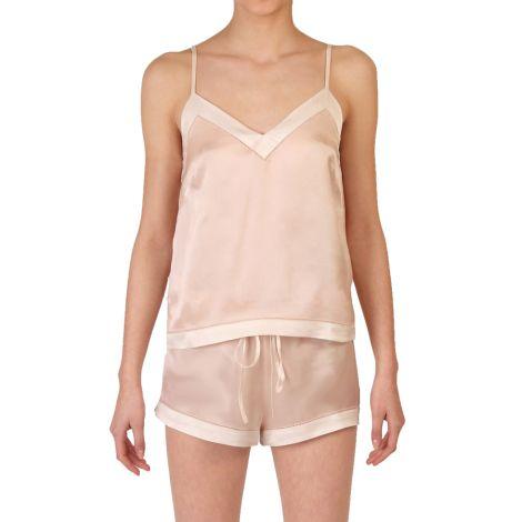 COCOON HOMEWEAR Pyjamatop Aphrodite Rose/Ecru