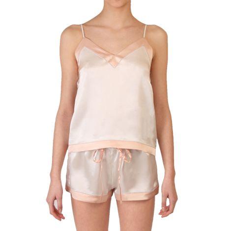 COCOON HOMEWEAR Pyjamatop Aphrodite Ecru/Rose