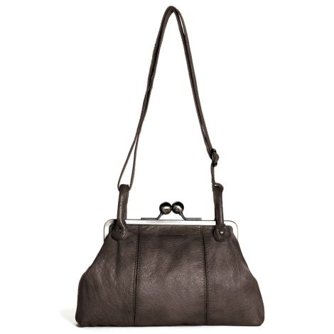 Sticks and Stones Ledertasche Toulouse Sparrow Washed •