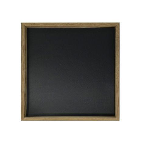 Raumgestalt Tablett Eiche & Linoleum 23 x 23 cm
