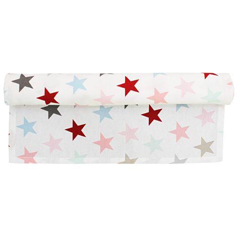 Krasilnikoff Tischläufer Star Multi White