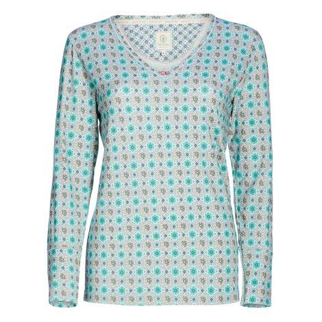 PIP Studio Langarm-Shirt Trix Double Check Green