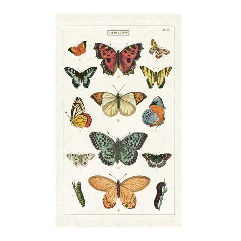 Cavallini Geschirrtuch Butterflies